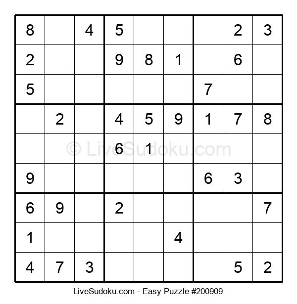Beginners Puzzle #200909