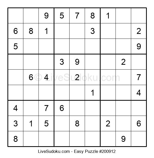 Beginners Puzzle #200912