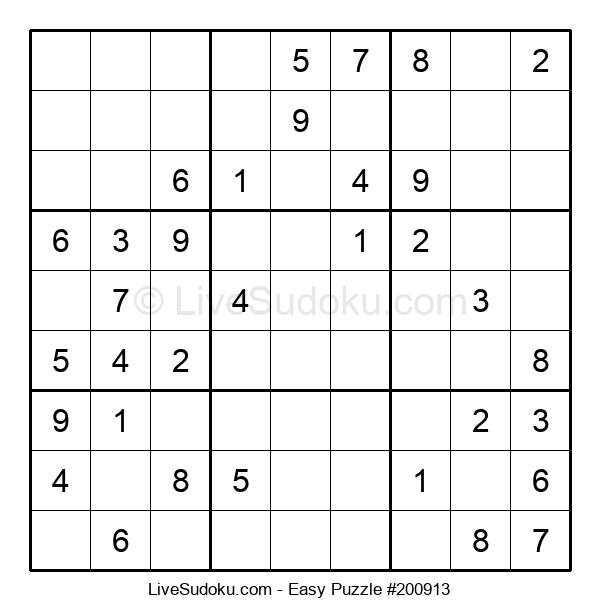 Beginners Puzzle #200913