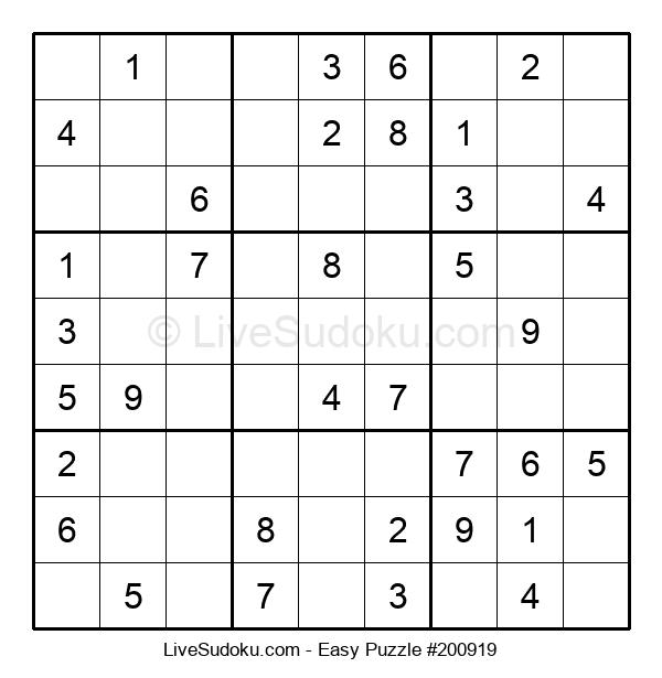 Beginners Puzzle #200919