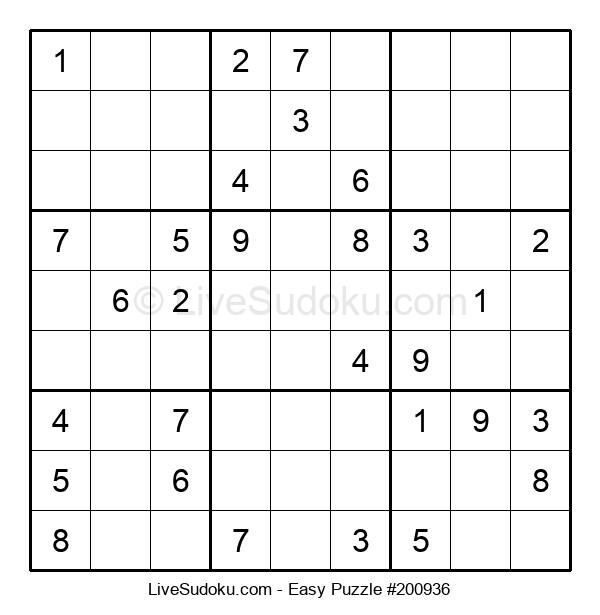 Beginners Puzzle #200936