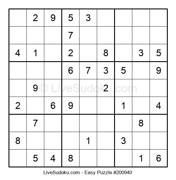 Beginners Puzzle #200940