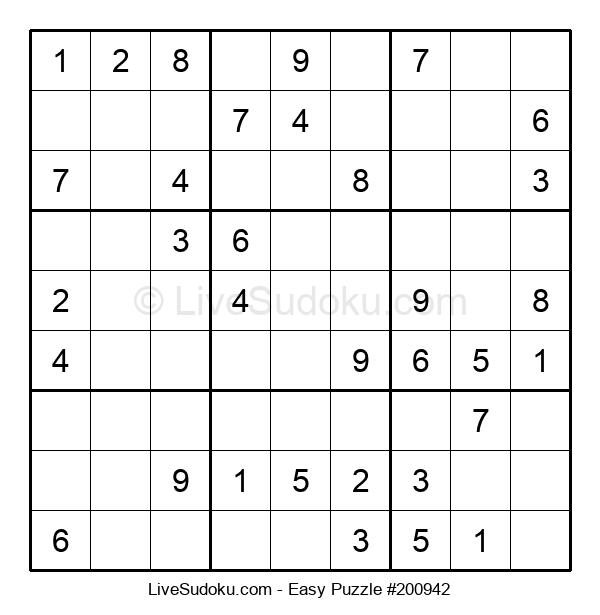 Beginners Puzzle #200942