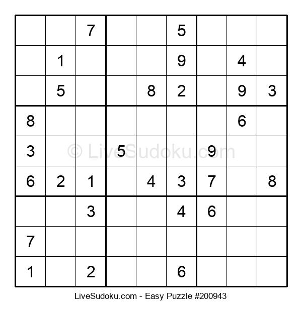 Beginners Puzzle #200943