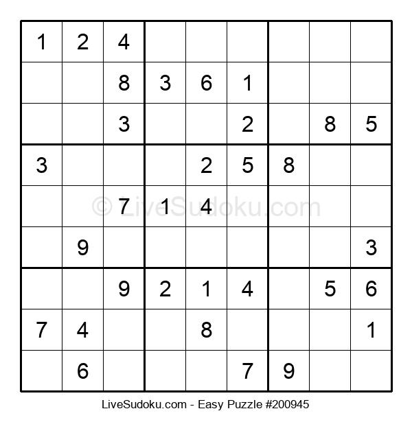 Beginners Puzzle #200945