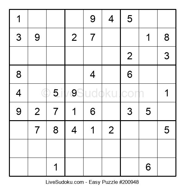 Beginners Puzzle #200948