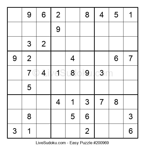 Beginners Puzzle #200969
