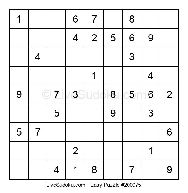 Beginners Puzzle #200975
