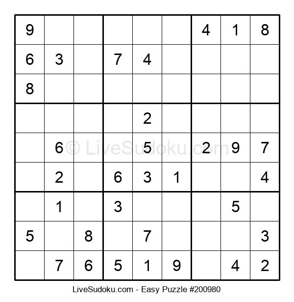 Beginners Puzzle #200980