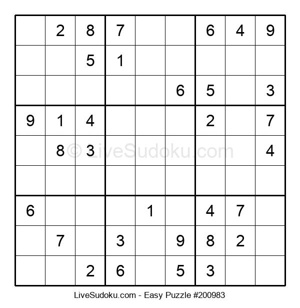 Beginners Puzzle #200983