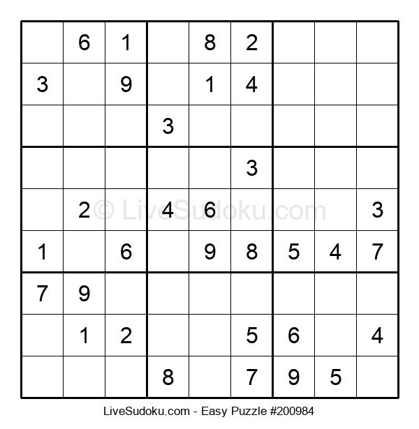 Beginners Puzzle #200984