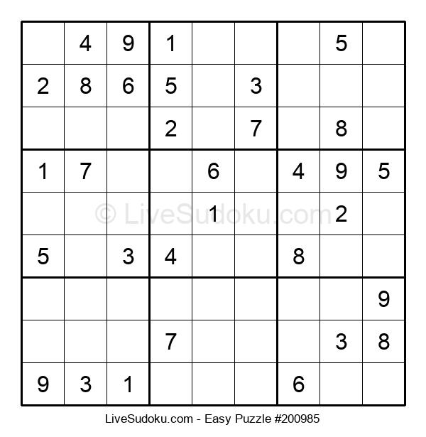 Beginners Puzzle #200985