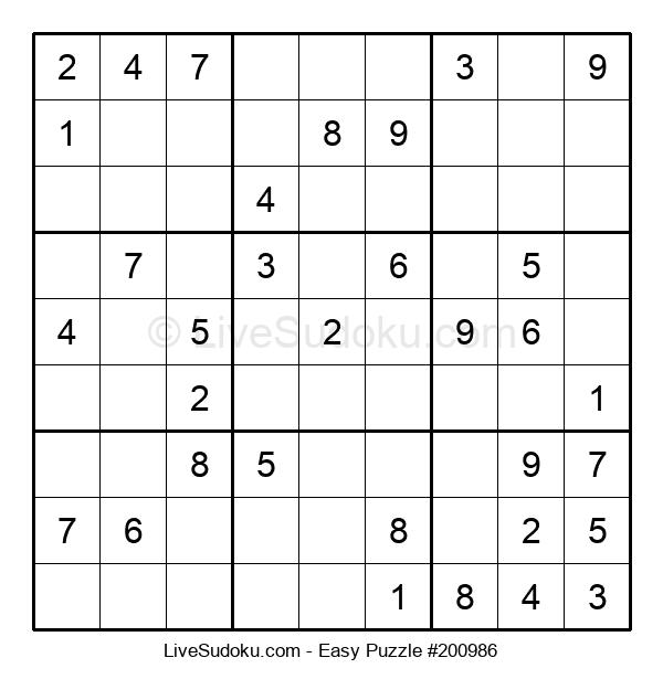 Beginners Puzzle #200986