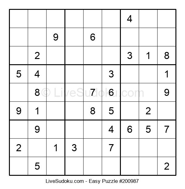 Beginners Puzzle #200987