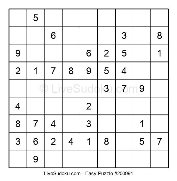 Beginners Puzzle #200991
