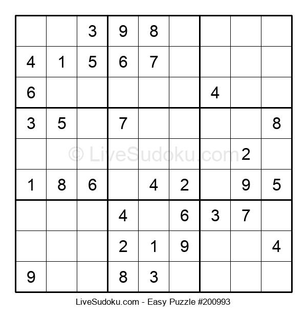 Beginners Puzzle #200993