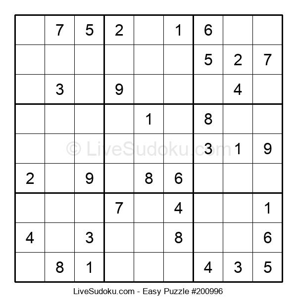 Beginners Puzzle #200996