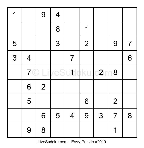 Beginners Puzzle #2010