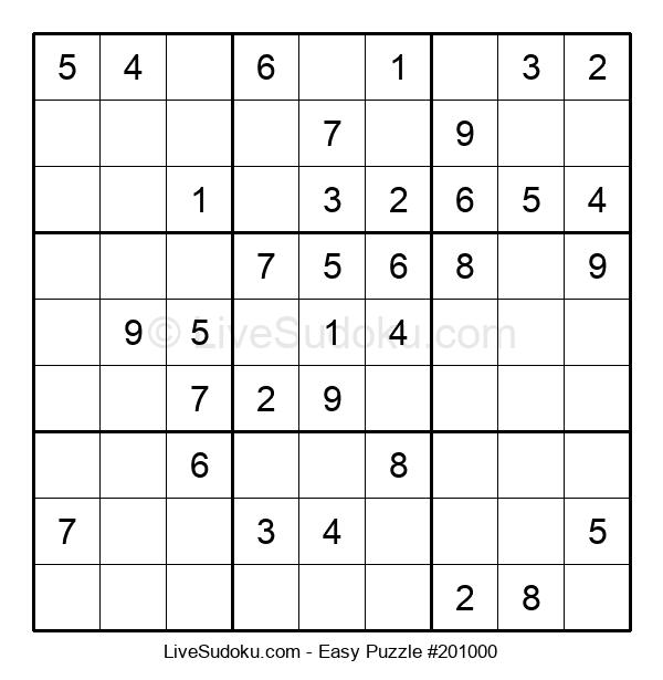 Beginners Puzzle #201000