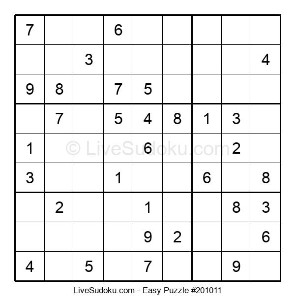 Beginners Puzzle #201011