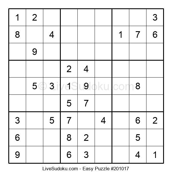Beginners Puzzle #201017