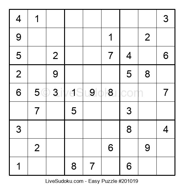 Beginners Puzzle #201019