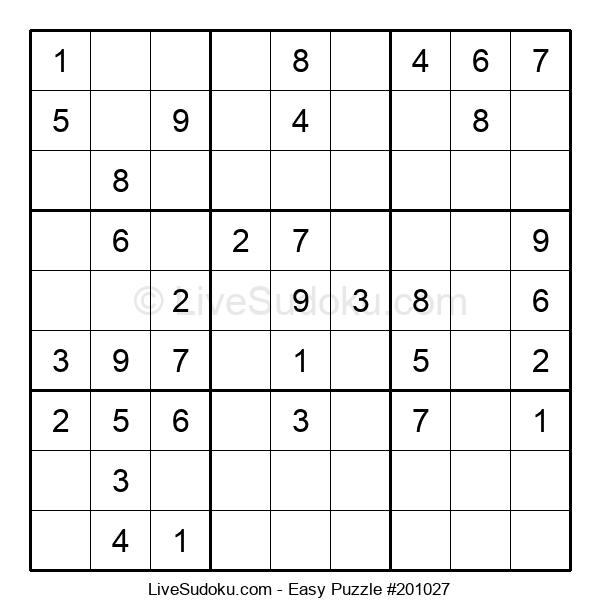 Beginners Puzzle #201027