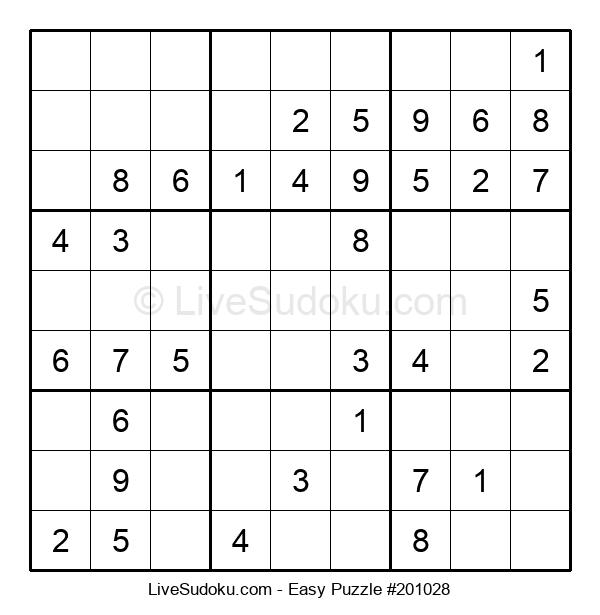 Beginners Puzzle #201028