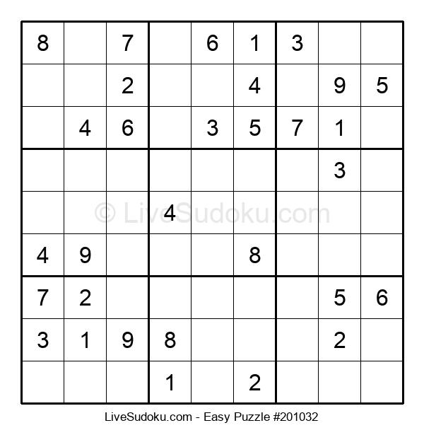 Beginners Puzzle #201032