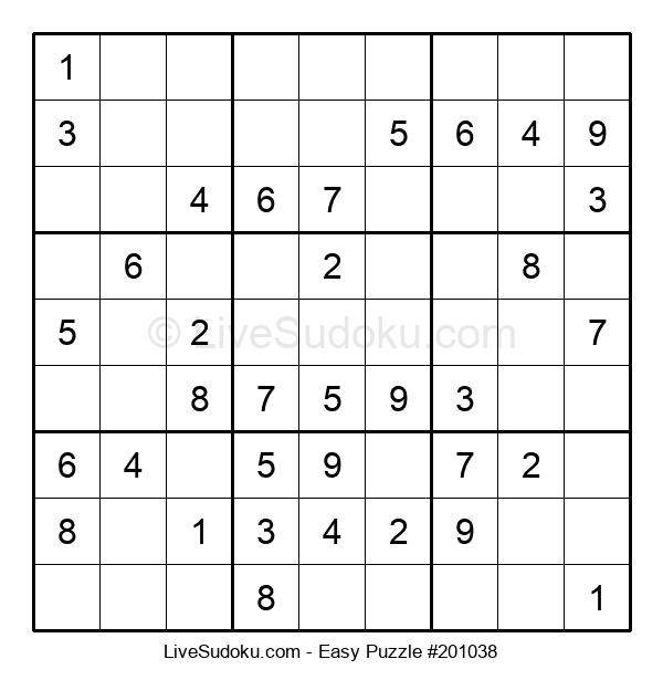 Beginners Puzzle #201038