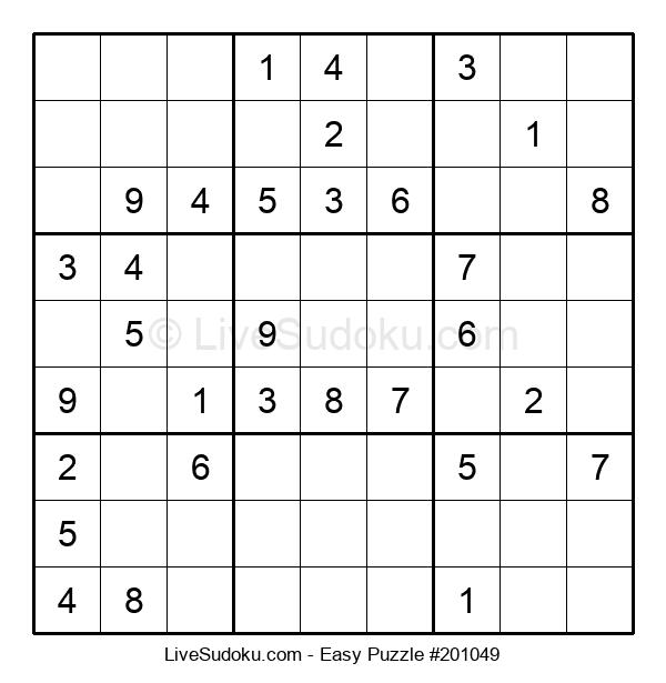 Beginners Puzzle #201049
