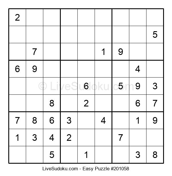 Beginners Puzzle #201058