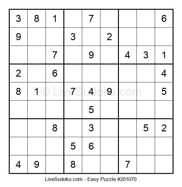 Beginners Puzzle #201070