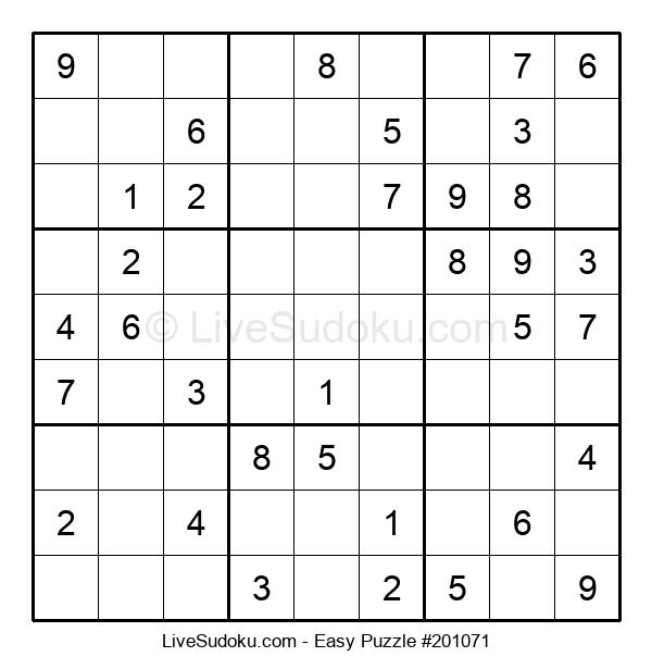 Beginners Puzzle #201071