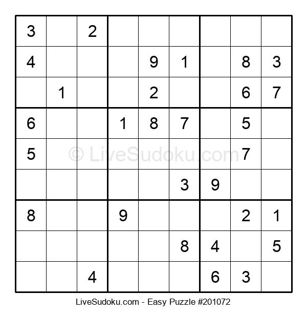 Beginners Puzzle #201072