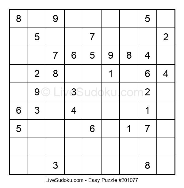 Beginners Puzzle #201077