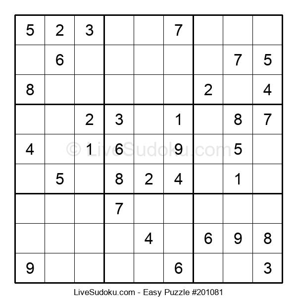 Beginners Puzzle #201081