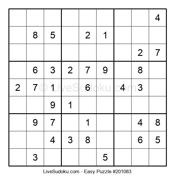 Beginners Puzzle #201083