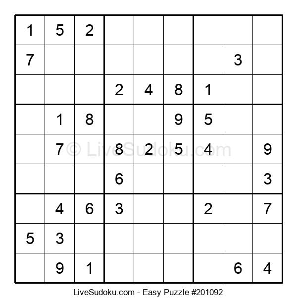 Beginners Puzzle #201092
