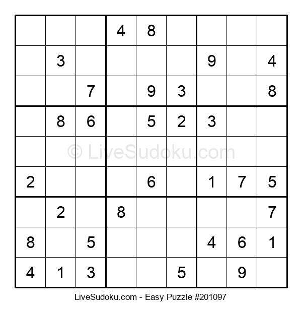 Beginners Puzzle #201097