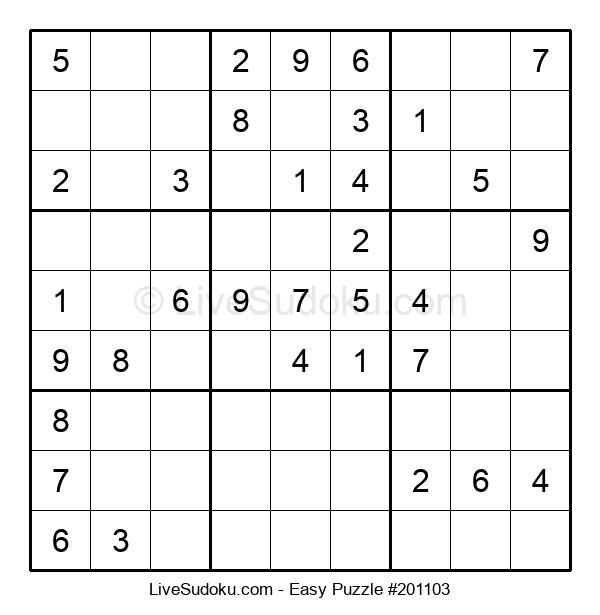 Beginners Puzzle #201103