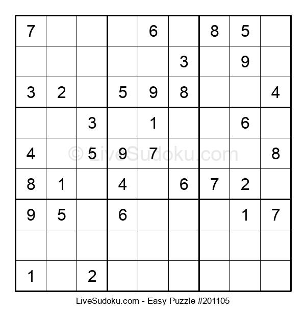 Beginners Puzzle #201105
