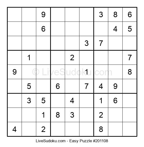 Beginners Puzzle #201108