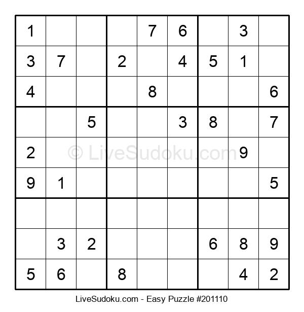 Beginners Puzzle #201110