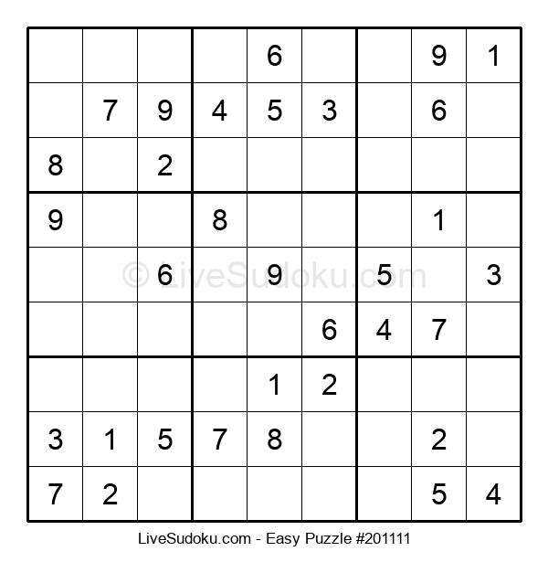 Beginners Puzzle #201111