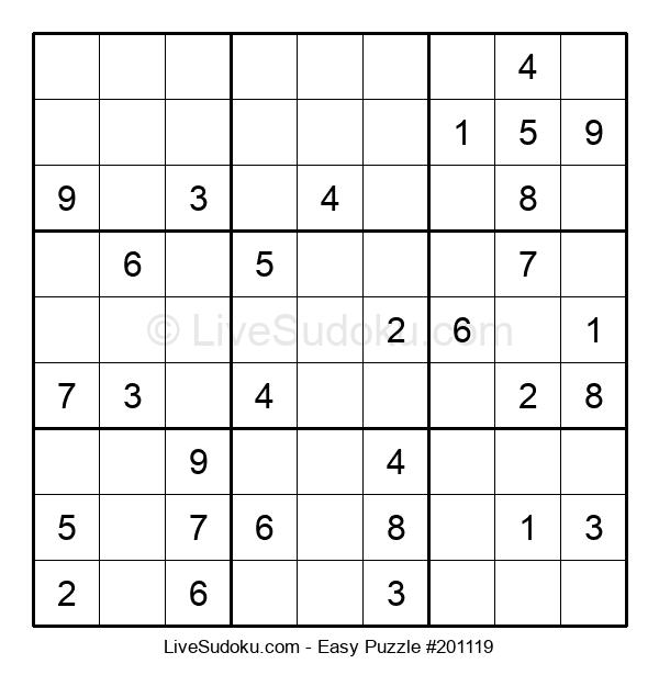 Beginners Puzzle #201119