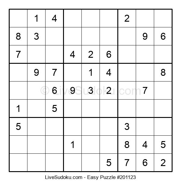 Beginners Puzzle #201123