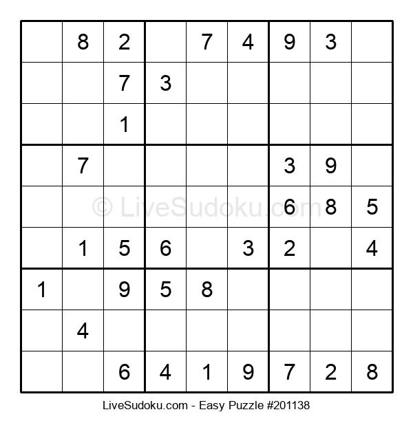 Beginners Puzzle #201138