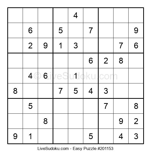 Beginners Puzzle #201153