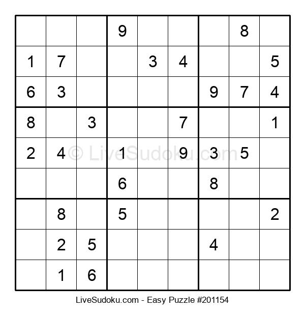 Beginners Puzzle #201154